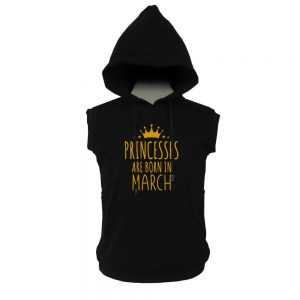 VEST-HOODIE-BLACK-GOLD-PRINCES-ARE-BORN-MARCH