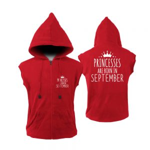 VEST-ZIPPER-MERAH-PRINCES-ARE-BORN-SEPTEMBER
