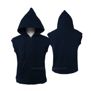 VEST ZIPPER NAVY