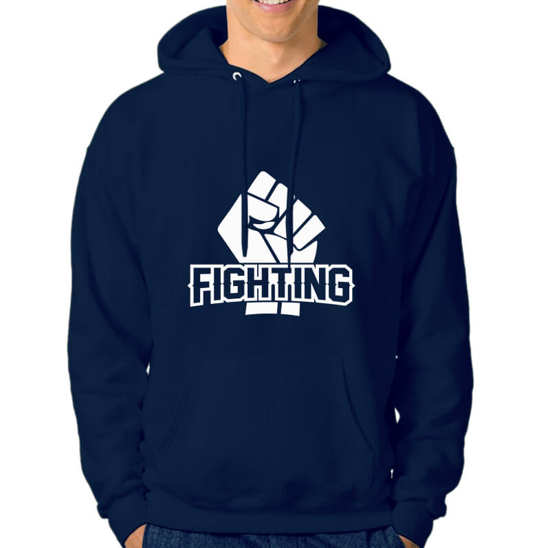 HOODIE-NAVY-FIGHTING