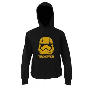 HOODIE - TROOPER - BLACK GOLD
