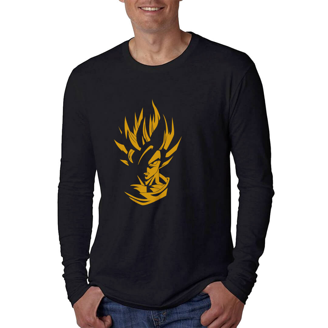 LONGSLEEVE-DRAGOON-BALL--BLACK-GOLD