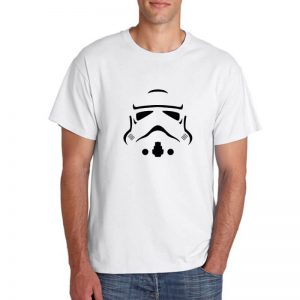 T-SHIRT - STAR WARS - WHITE