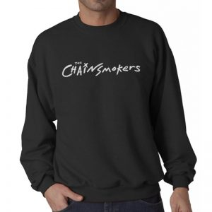 THECHAINSMOKERS-SWEATER-HITAM