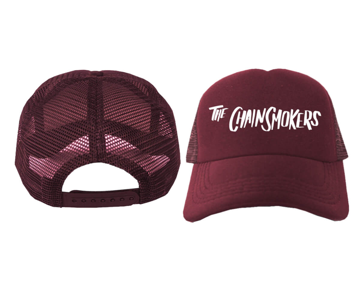 TRUCKER-MAROON-THE-CHAINSMOKERS