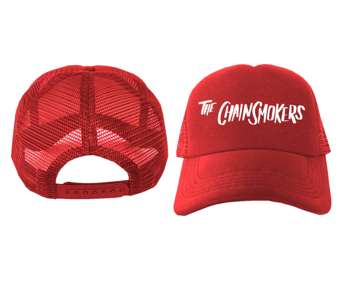 TRUCKER-MERAH-THE-CHAINSMOKERS