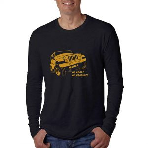 LONGSLEEVE-NO-ROAD-NO-PROBLEM-BLACK-GOLD