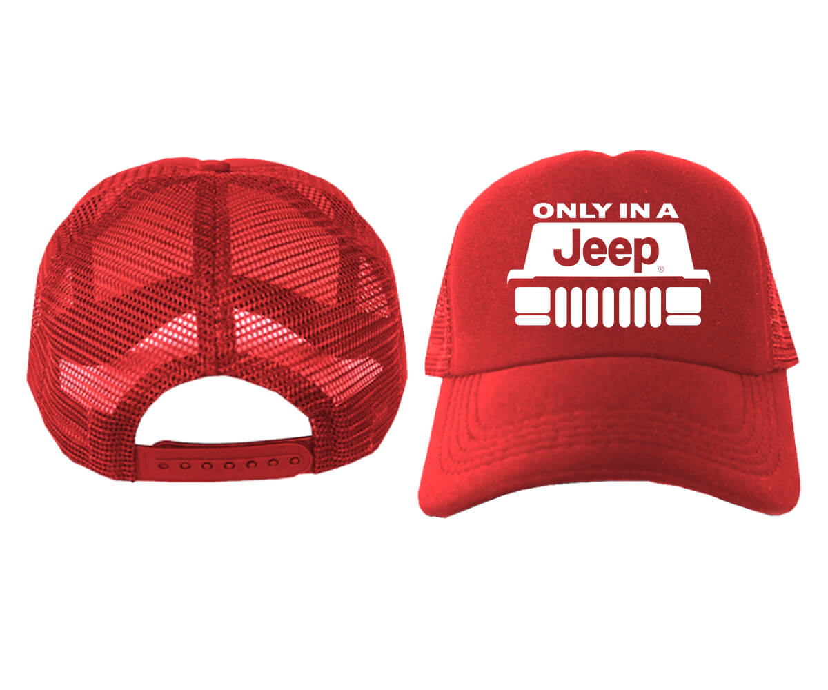 TRUCKER-ONLY-IN-A-JEEP-MERAH