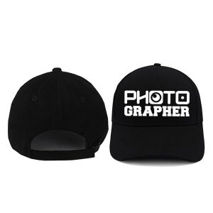 CAPS-HITAM-PHOTOGRAPHER