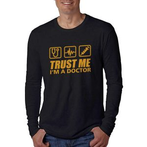 LONGSLEEVE-TRUST-ME-I_AM-A-DOCTOR-2-BLACK-GOLD