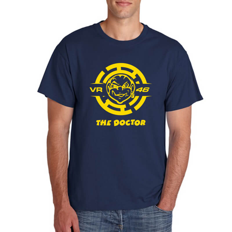 T-SHIRT-THE-DOCTOR-2-NAVY-YELLOW