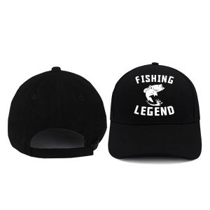 CAPS-FISHING-LEGEND-BLACK