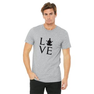 Jual Kaos Love Yoga