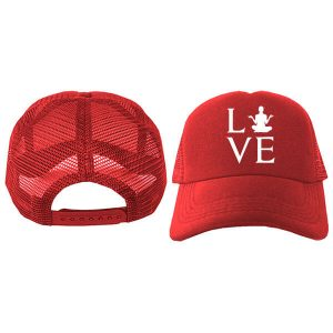 Jual Topi Trucker Love Yoga