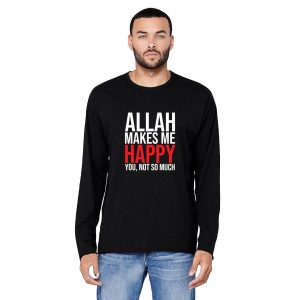 Jual Longsleeve Allah Makes Me Happy