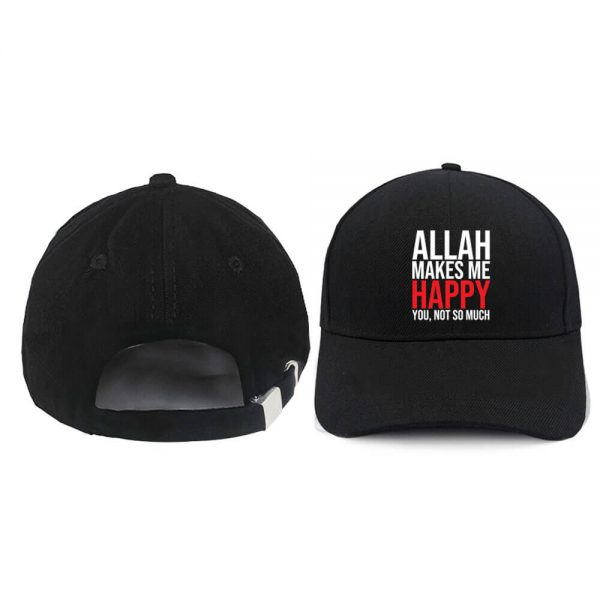 Jual Topi Baseball Allah Makes Me Happy
