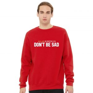 Jual Sweater Allah Is With Us