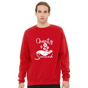 Jual Sweater Charity Is Sunnah