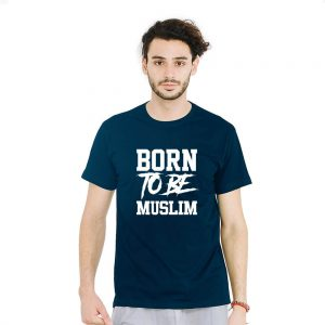 Jual Kaos Born To Be Muslim